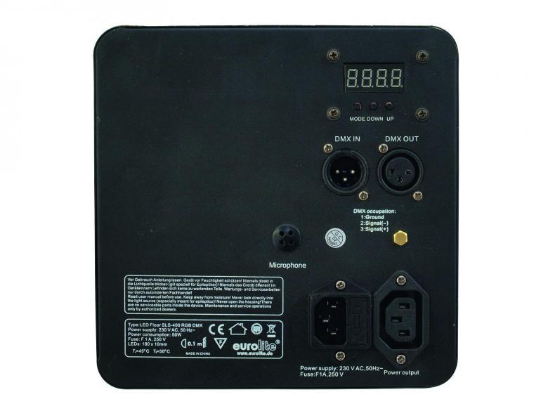 POISTO SLS-400 LED RGB Heitin flat par, Tilaa säästävä ja helposti kuljetettava ohut mallinen LED-valaisin, Lattia- ja ripustetta malli! Todella tehokas ja ohut LED spotti, joka voidaan asettaa ständiin, trussiin tai lattialle! Voit ohjata laitetta kaikilla yleisillä DMX-ohjaimilla, laitteen perästä myös automatiikalla, musiikkiohjauksella sekä voit valita eri tyyppisiä ohjelmia! Mitat 85 x 235 x 245 mm paino 2,0kg. Aukeamiskulma 25°.