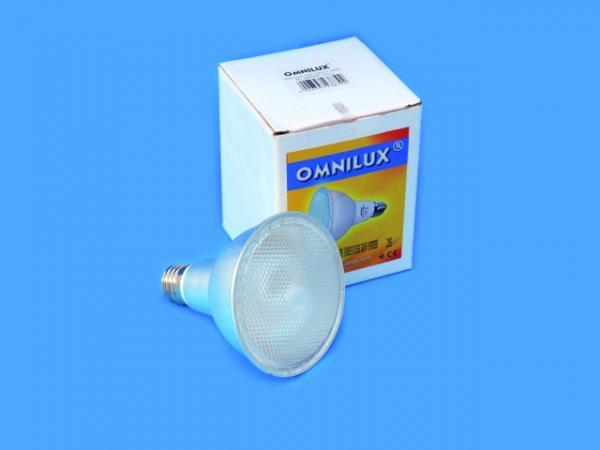 OMNILUX PAR-30 ES 230V/15W E27 4200K laaddukas 5000h energian säästölamppua e-27 kantaan Energy saving