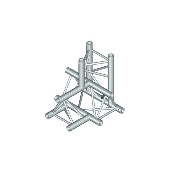 ALUTRUSS TRILOCK 4-tie risteyspala QPAT \/ 6082AC-42. 4-way cross piece