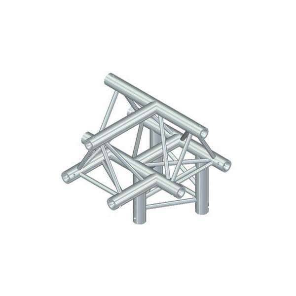 ALUTRUSS TRILOCK 4-tie risteyspala /\6082AT-43. 4-way cross piece