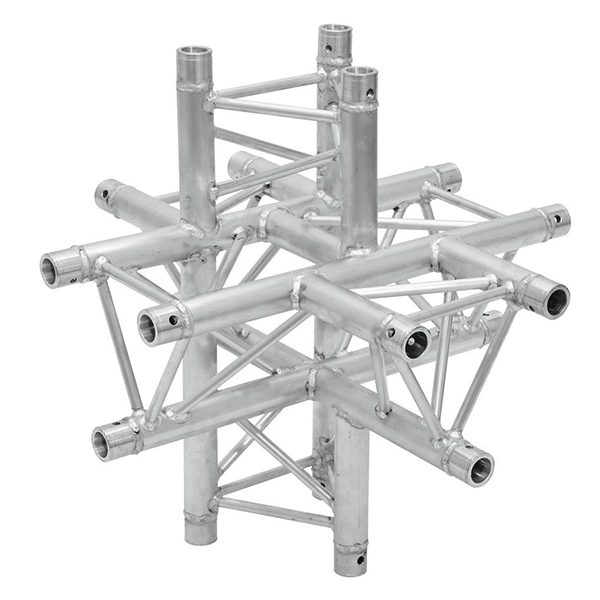 ALUTRUSS TRILOCK 6-tie risteyspala 6082AC-61. 6-way cross piece