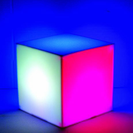 EUROLITE LED CUBE 25/5C This cube can do what others can't!, Monivärinen, monikäyttöinen