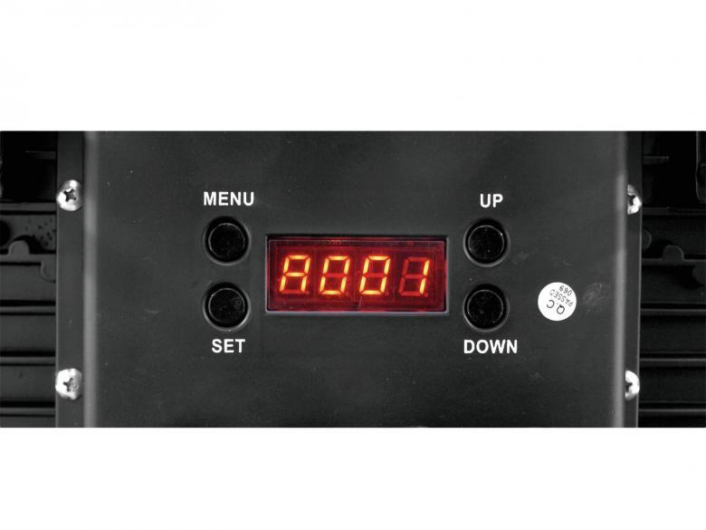 EUROLITE LED EXT-Blinder IP65. Huipputehokas Audience Blinder 4x 36x 1W IP65 15°. Äijävalo, 128 x 1W LEDIä häikäisee isommankin stagen. Soveltuu myös ulkokäyttöön.