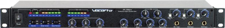 VOCOPRO DA-1000 PRO Professional 3 Mic D, discoland.fi