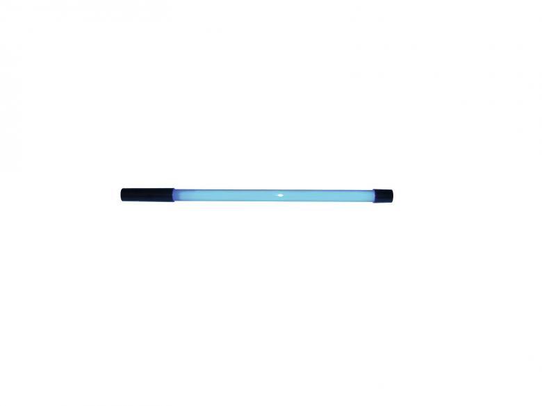 EUROLITE Neon stick sininen 18W on neonia simuloiva valaisin on/off virtakatkaisimella. Pakkauksen mitat 750 x 35 x 35 mm sekä paino 0,3kg.