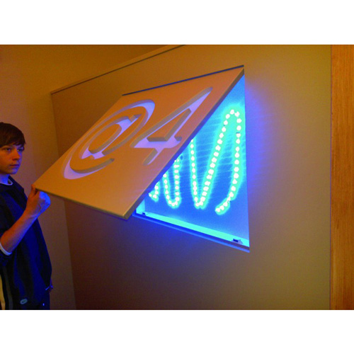 EUROLITE LED Silicone-Ribbon 103cm 99 LEDs 12V blue, IP44