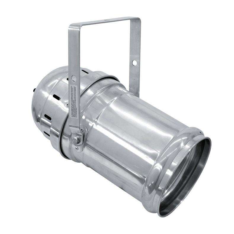 EUROLITE LED PAR-64 TCL valonheitin 18x 3W 22° 125W alu. Vastaa 500W:n halogeenia! Professional LED spot in LED DMX format