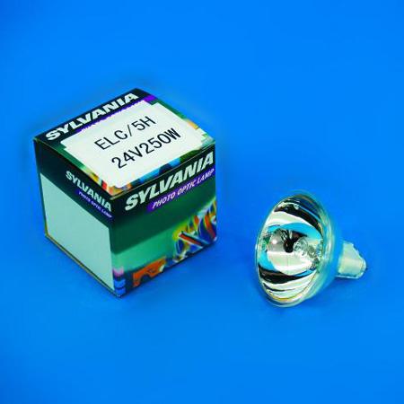 SYLVANIA ELC /500h 24V/250W GX-5.3 50mm , discoland.fi