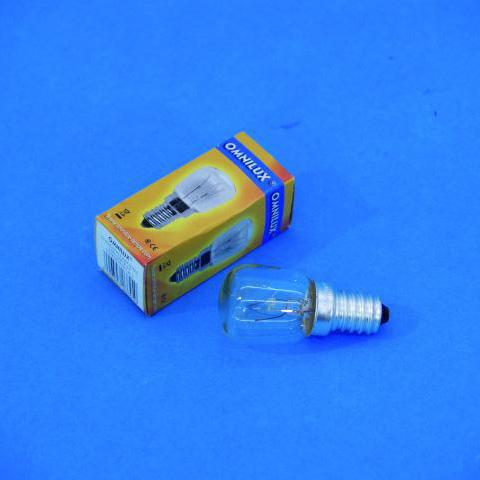 OMNILUX pygmy lamp 230V/10W E-14 1000h, discoland.fi