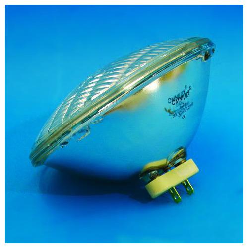 OMNILUX PAR-56 230V/500W WFL 2000h Tungsten, leveä valokiila, värilämpö 3000k, tehokkaampi polttimo par 56 heittimeen.