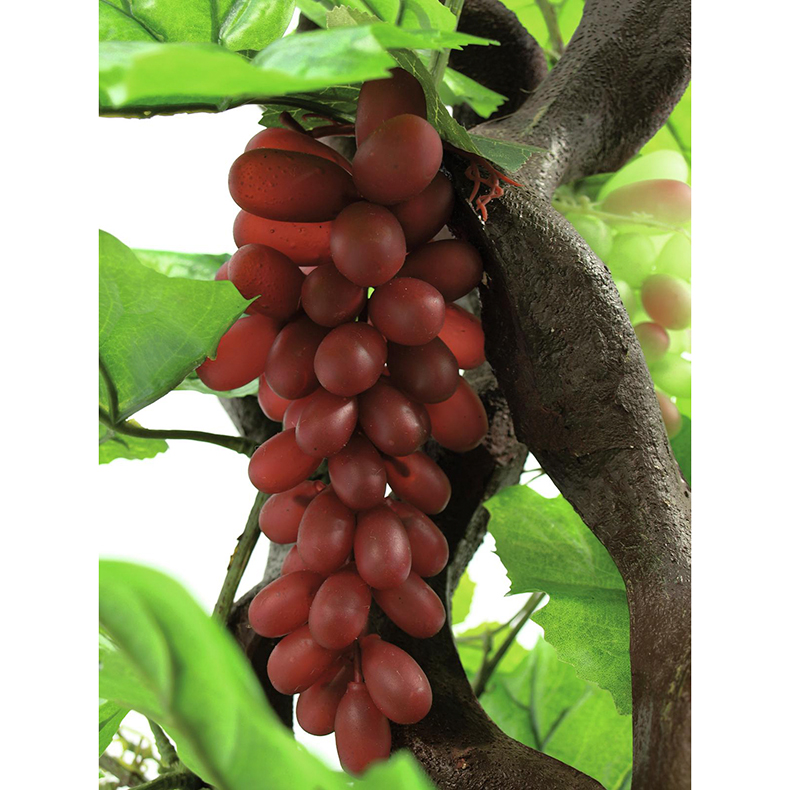 EUROPALMS 160cm Viinipensas viinimarjoilla. Vine with grapes. Ideal for wine festivals and wine bowers