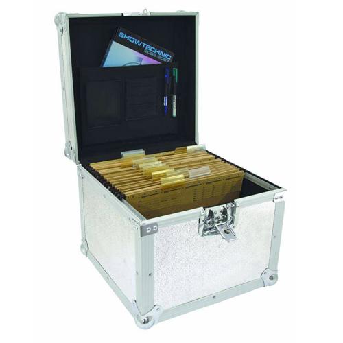 OMNITRONIC Kuljetuslaatikko asiakirjoille tai vinyylilevyille Hyvä lahjaidea.