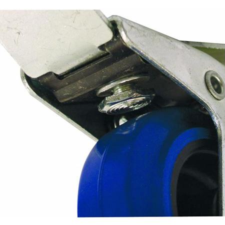 OMNITRONIC Kääntyvä kalustepyörä jarrulla 100mm, maximi kuorma 50kg.