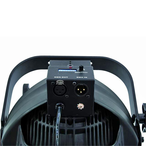 EUROLITE LED ML-56 3200K 24x 1W LEDs 25° spot 50W black, valkoisilla LEDeillä