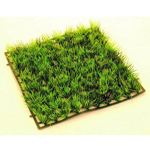 EUROPALMS Grass mat, connectable 23 x 23 x 3cm 10pcs, Ruohomatto 10 kpl a'23 x 23 x 3cm, palat liitettävissä toisiinsa