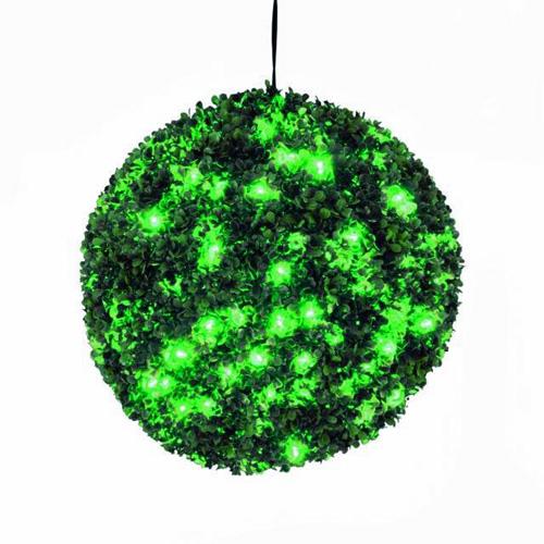 EUROPALMS 40cm Puksipuupallo LEDeill�, v, discoland.fi