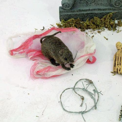EUROPALMS Halloween cemetery kit 75cm, Halloween hautasmaa setti
