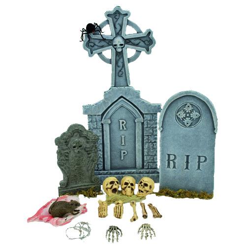 EUROPALMS Halloween cemetery kit 75cm, H, discoland.fi