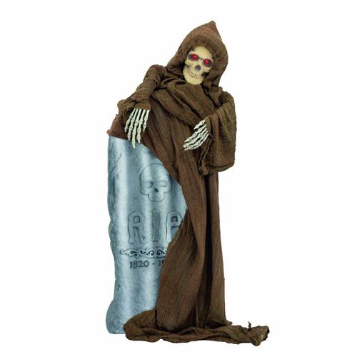 EUROPALMS Halloween Skeleton with  blink, discoland.fi