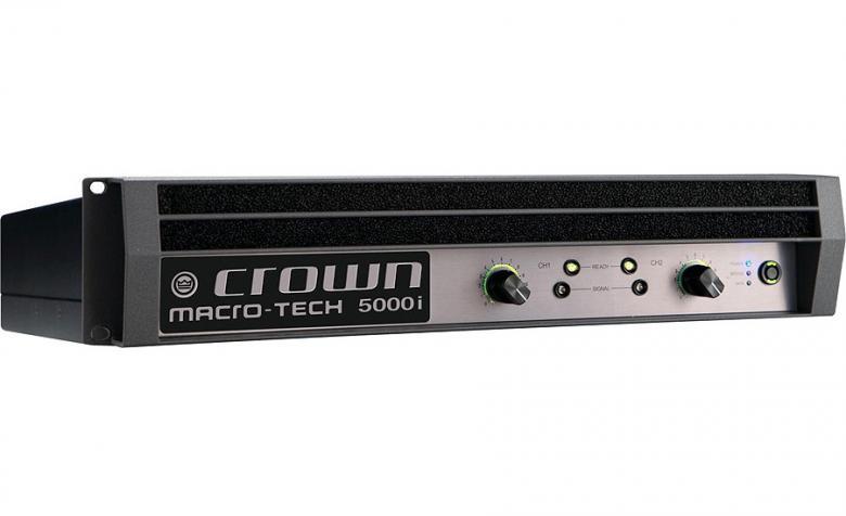 CROWN MA-5000i Päätevahvistin 2x2000W , discoland.fi