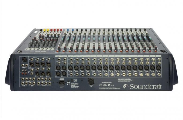 SOUNDCRAFT GB4 16+2 huippuluoken sali- ja monitorimikseri, soundcraftin laajasta valikoimasta.