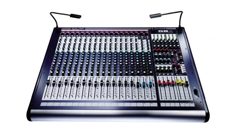SOUNDCRAFT GB4 16+2 huippuluoken sali- j, discoland.fi