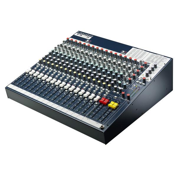 SOUNDCRAFT FX16II 16/4 PA monikäyttömikseri 4x aux, Lexicon efektit. Todella laadukas mikseri Soundcraftilta. Tällä mikserillä voit lähteä keikalle tai voit äänittää studiossa.