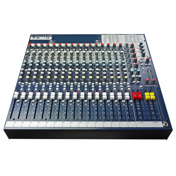 SOUNDCRAFT FX16II 16/4 PA monikäyttömi, discoland.fi