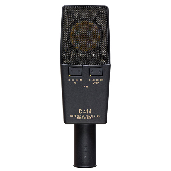 AKG C414 XL II Large-diaphragm condenser microphone, especially for recording of solo vocals and solo instruments,  Kevyellä Presence-korostuksella varustetulla C12 -tyylisellä kapselilla