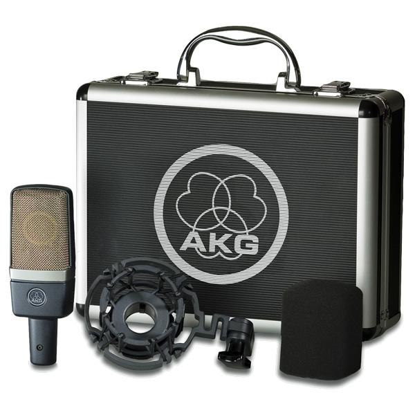 AKG C214 Isokalvoinen 1