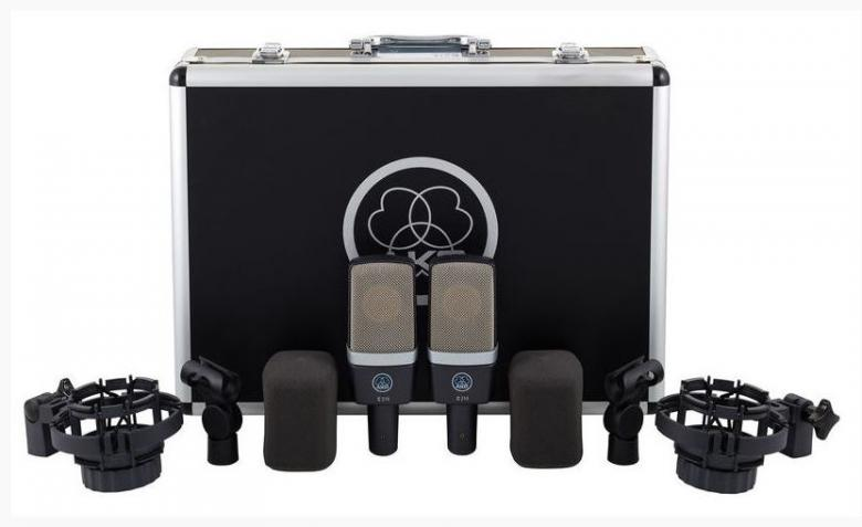 AKG C214 ST Stereo Set, Factory-matched , discoland.fi