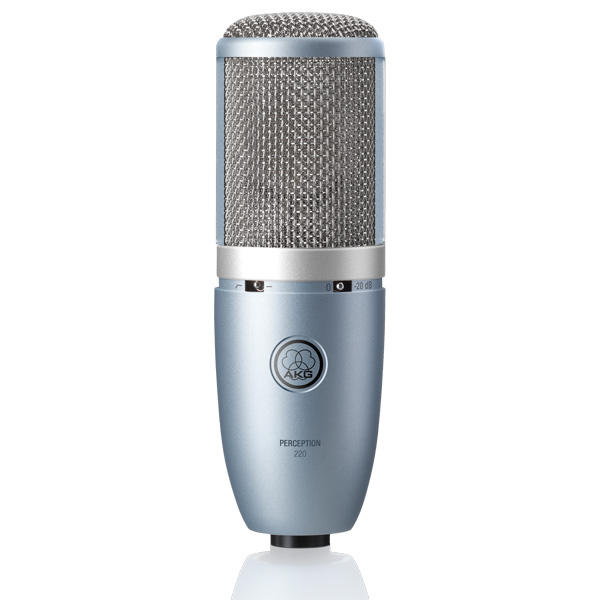 AKG P220 Isokalvoinen studiomikrofoni Perception 220 Large diaphragm condenser microphone with 1