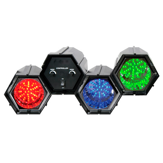 BEAMZ LED-3 on 3-kanavainen LED-valourku, discoland.fi