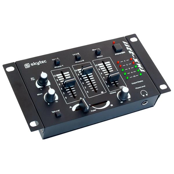 SKYTEC STM-2211B DJ-Mikseri 4-kanavaa, m, discoland.fi