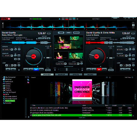 OMNITRONIC LOPPU!!DJ-kontrolleri TMC-3 Virtual DJ 6 LE softalla.
