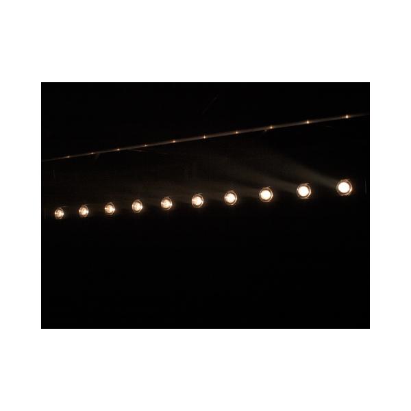 EUROLITE LED STP-10 3200K 10x 3W Tehokas LED-palkki kapealla 6° valokeila