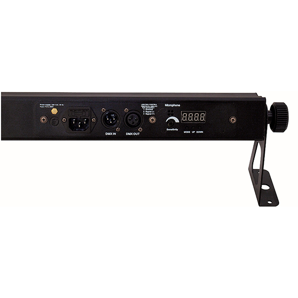 EUROLITE LED STP-10 3200K 10x 3W Tehokas LED-palkki 25° valokiilalla.
