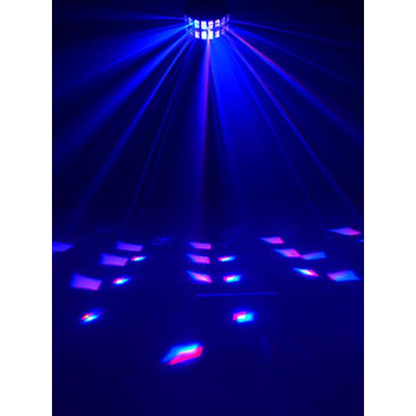EUROLITE LED D-800 Beam effect, Beam effect with 2x 8W quadcolor LED. Beam Efekti aivan uudessa teholuokassa 2x 8W LEDeillä.