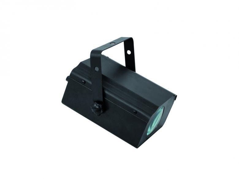 EUROLITE LED FE-19 LED-flower-valoefekti. Soveltuu kotikäyttöön, pubeihin, peinille tanssilattioille tai vaikkapa näyteikkunaan. Antaa monivärisiä kuvioita, jotka liikkuvan musiikin basson tahtiin. Laite on suoraan käyttövalmis paketista otettaessa. Mitat (PxLxK): 210 x 185 x 170 mm Paino: 1 kg