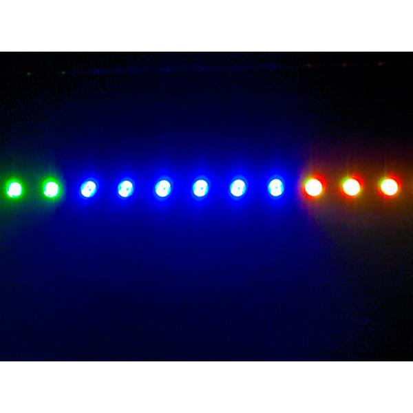 EUROLITE LED PIX-16 TCL LED-Palkki 16x 3W tricolor LEDiä 25°. Tehokas LED-Palkki vaativiin näyttämö ja keikkasovelluksiin. Toimii hienosti myös seinäpintojen valaisussa.