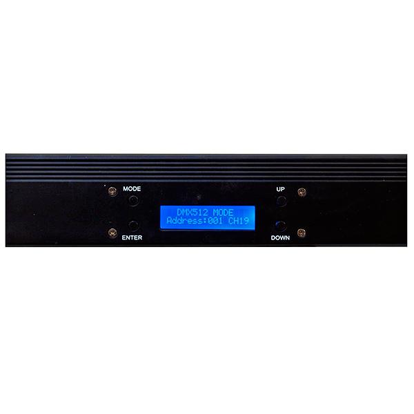 EUROLITE LED-palkki 252x 10mm LEDeillä 20° RGBA-väreillä vaikka seinien valaisuun, ohjattavissa äänellä, automaatti sekä DMX 4,6 sekä 19 kanavaa helppo kiinnittää seinään tai kattoon, mitat 1075 x 65 x 90 mm, paino 2,0kg.
