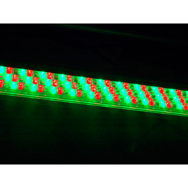 EUROLITE LED BAR-243 RGB 10mm 12V 30°. Handsome LED bar offers new creative possibilities! LED-palkki toimii LED PSI-1 DMX-kontrollerin kanssa.
