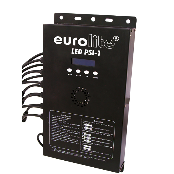 EUROLITE LED PSI-1 DMX controller. The i, discoland.fi