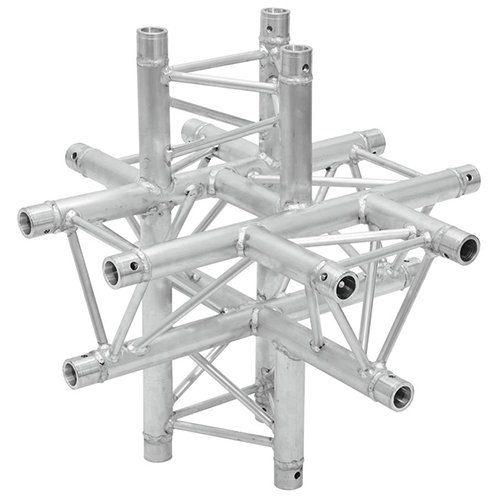 ALUTRUSS 6-tie risteyspala E-GL33 C-61. 6-way cross piece