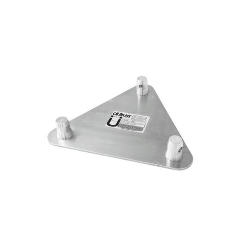 ALUTRUSS TRILOCK päätylevy E-GL33 uros. Base/wall-plate QTGE male