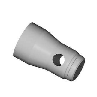 ALUTRUSS Half conical coupler M12 TQ4-52, discoland.fi