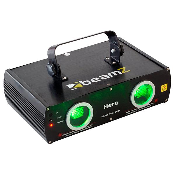 BEAMZ Hera 2-säteinen vihreä laser 2x , discoland.fi