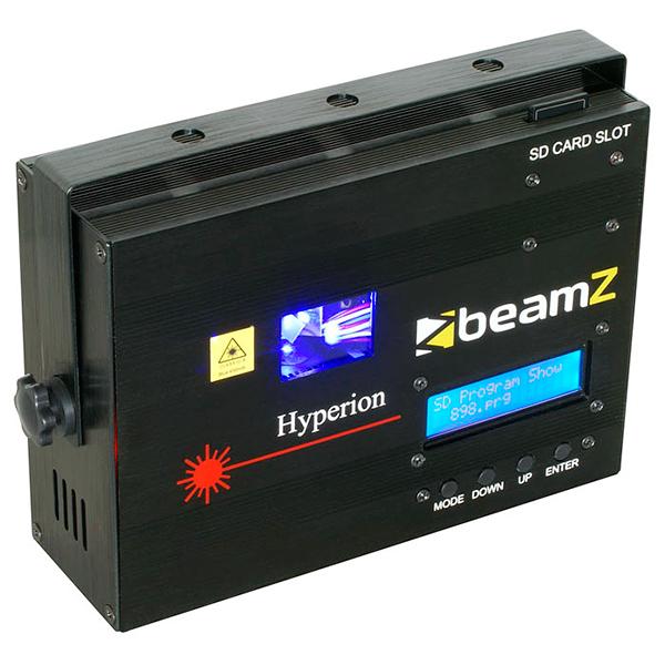 BEAMZ Hyperion animaatio Laser sininen D, discoland.fi