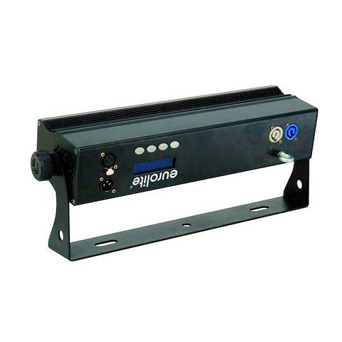 EUROLITE LED PIX-8 LED-palkki 8x 8W QCL LED RGBW-väreillä 21°, ääniohjaus, DMX-ohjaus 4, 6, 7, 11, 19, 32- tai 35-kanavaa, stand-alone, master/slave