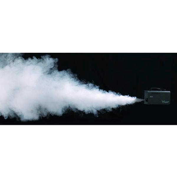 ANTARI W-508 Fogger savukone 800W langattomalla kauko-ohjaimella 50m kantama, todella nopeasti lämpenevä, alle 2 min, pienikokoinen ja helposti mukaan otettava savukone, savun tuotto 85 m³, mitat 315 x 128 x 166 sekä paino 3,8kg.